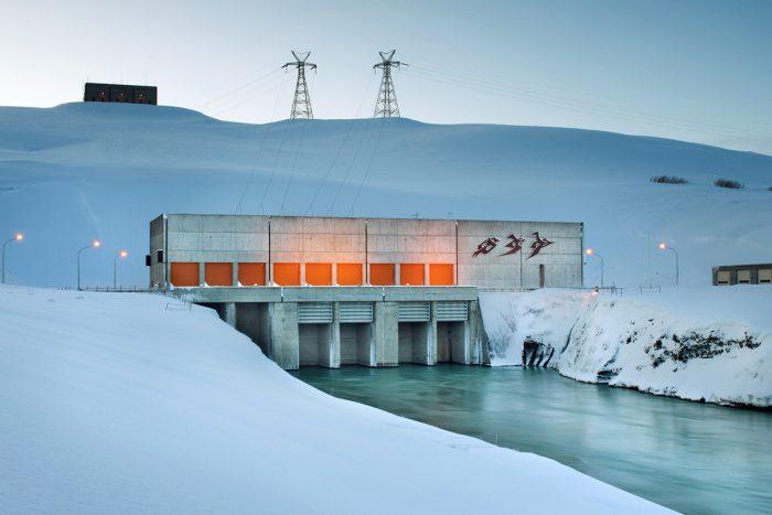 Maschinenraum des Internets ++ Wasserkraftwerke von Landsvirkjun