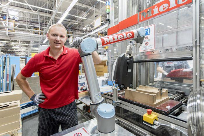 Maschinenraum des Internets ++ Miele Industrie 4.0