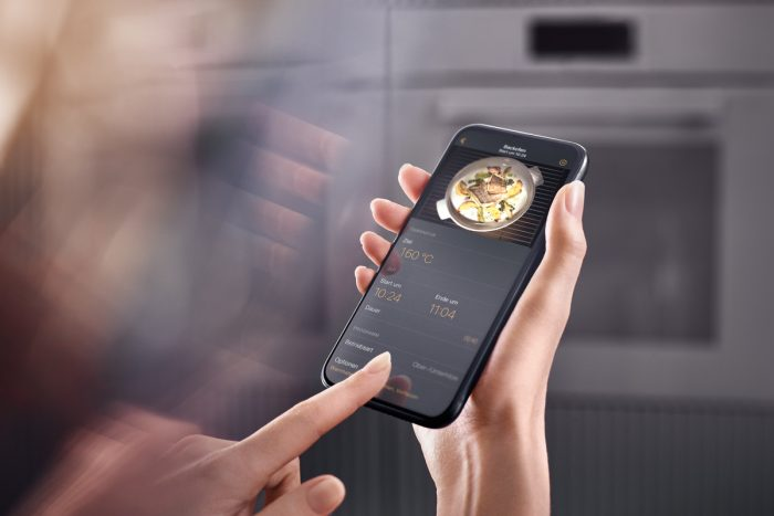 Maschinenraum des Internets ++ Miele App FoodView