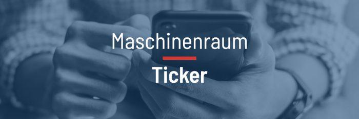 Maschinenraum des Internets ++ Ticker